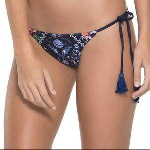NWT AGUA BENDITA Alegria Skyflower Blue Bikini L
